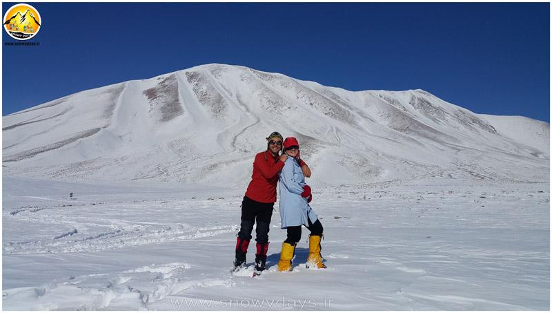 صعود زمستانی کوه سهند