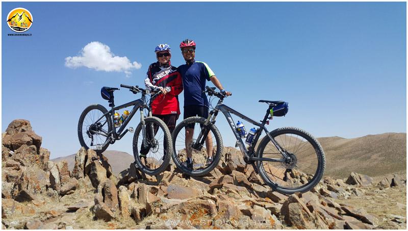دوچرخه کوهستان روستای کندوان