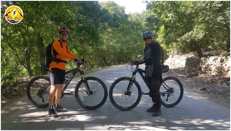 دوچرخه کوهستان مسیر یای شهری