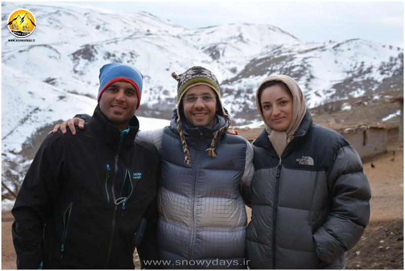 به همراه دوست خوبمون اقای منصور گلابی