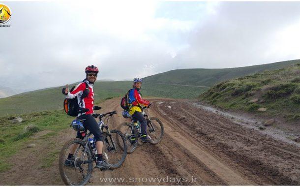 کوه سهند مسیر دوچرخه کوهستان
