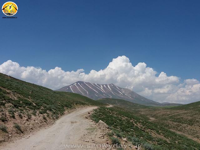 مسیر کوه سهند